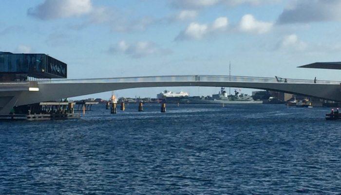 The Kissing Bridge in Copenhagen