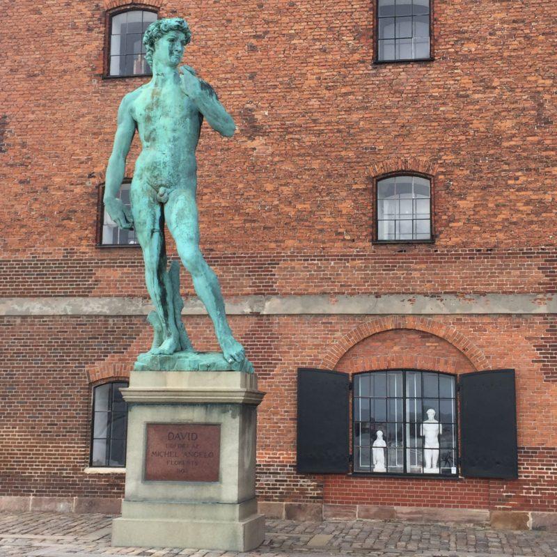 Copy of Michaelangeleo's David in Copenhgagen