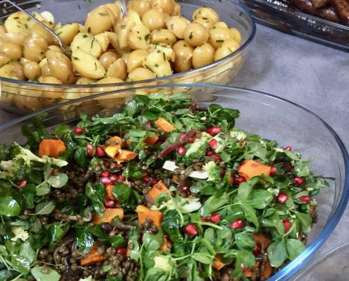 Lentil and Caramelised Onion Salad