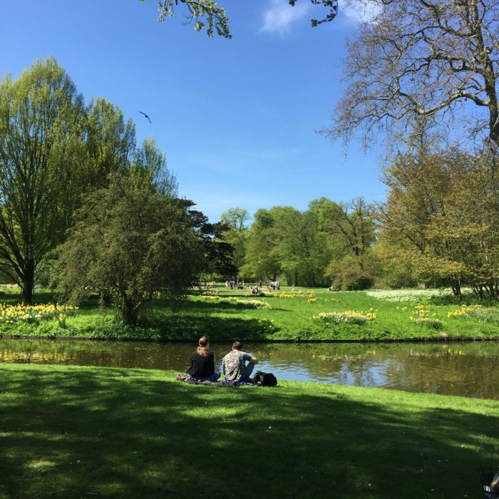 English style gardens at Frederiksberg Have