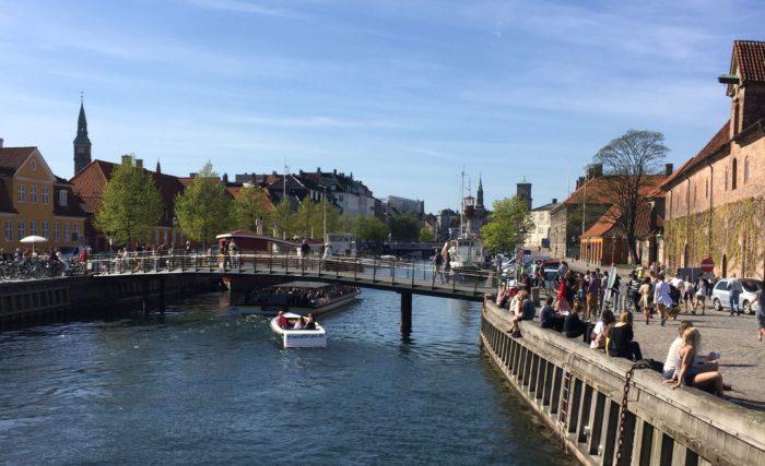Views into Copenhagen from Blox