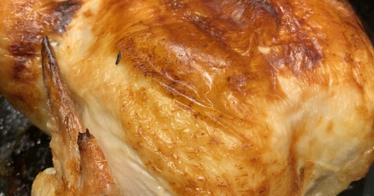 Fabulous Buttermilk Roast Chicken and The Most Perfect Gravy