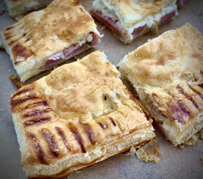 Slices of Sound Flat Ham Pie