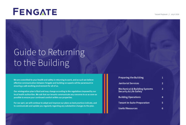 Fengate Return the Building Guide