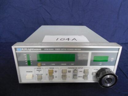 ILX Lightwave FPM-8200 Fiber Optic Power Meter