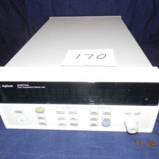 #170 Agilent 34970A Data Acquisition/Switch