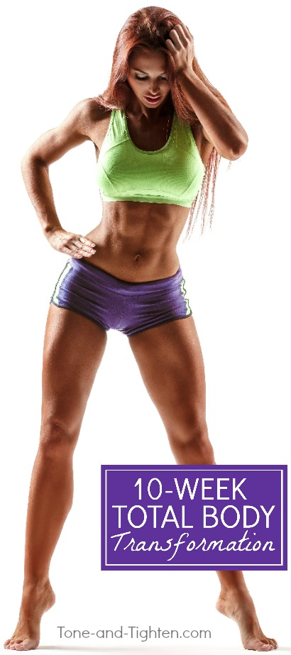 10-week at-home workout plan to lose fat and increase muscle tone