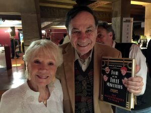 Academy Award winning Disney Legend Richard Sherman and his wife Elizabeth at the Egyptian Theater in Hollywood celebrating the publication of Four of the Three Musketeers.