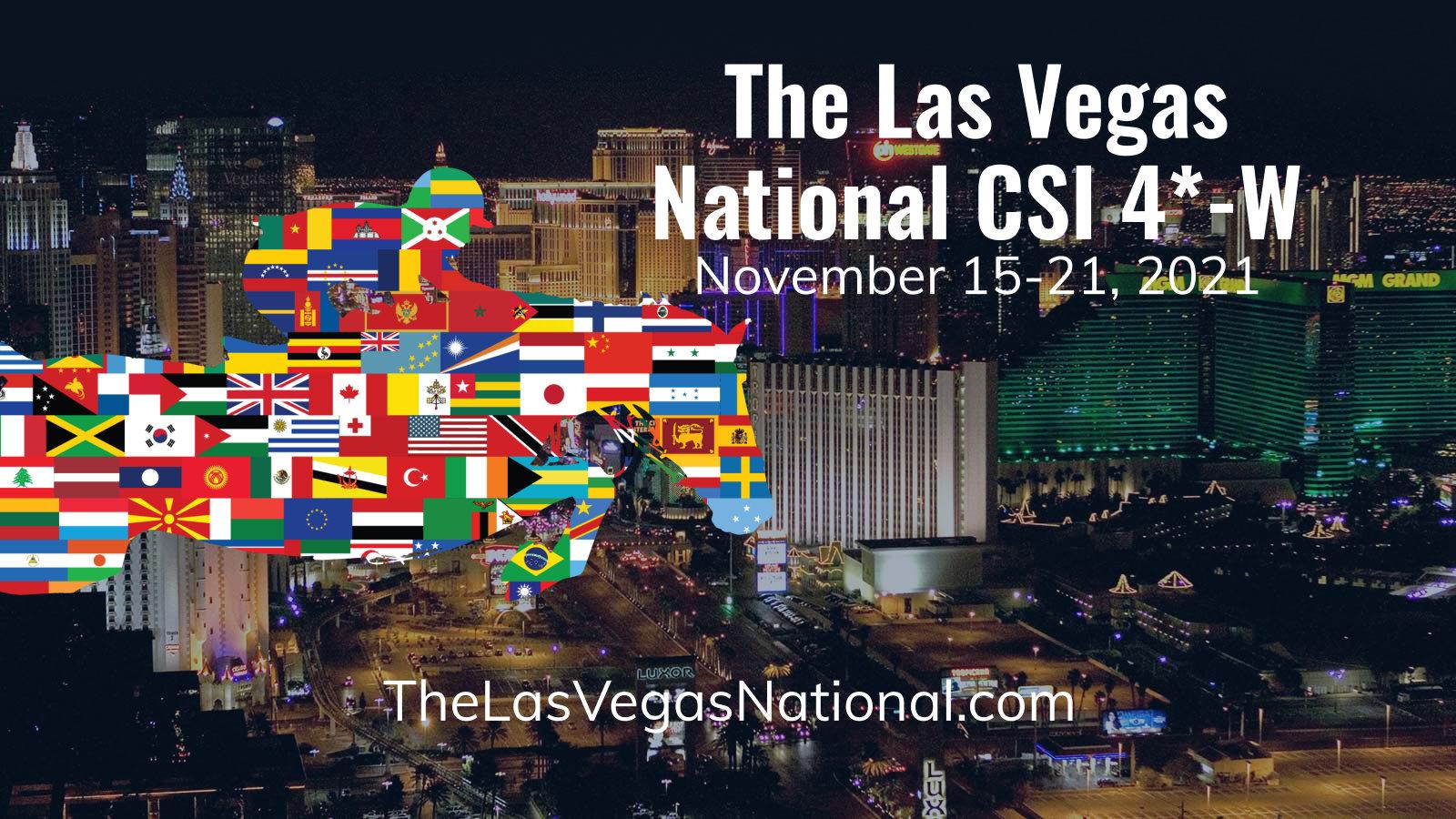 Las Vegas National Horse Show Header