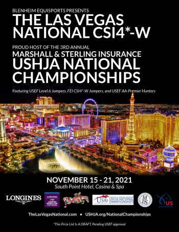 2021 Las Vegas national Prize List cover