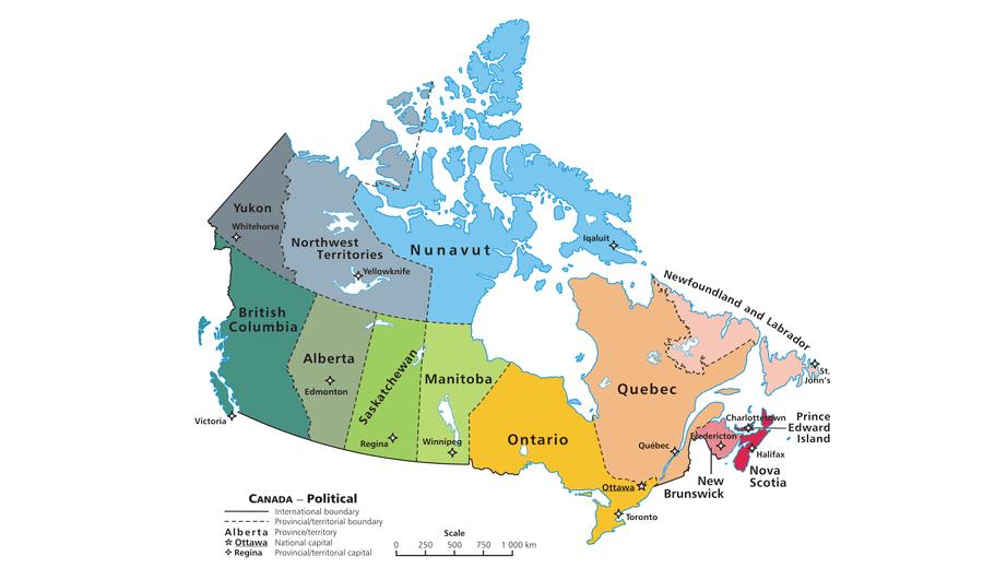 Províncias do Canadá