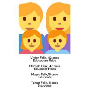 Família Felix no Canadá
