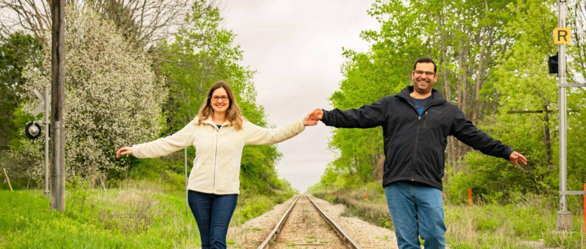 Um casal de arquitetos recomeçando a vida profissional em Ontário