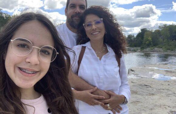 Uma família de Brasília experimentando a vida em Toronto