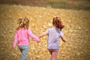 Crianças felizes no Canadá