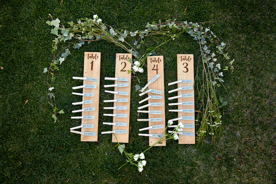 scottish table numbers