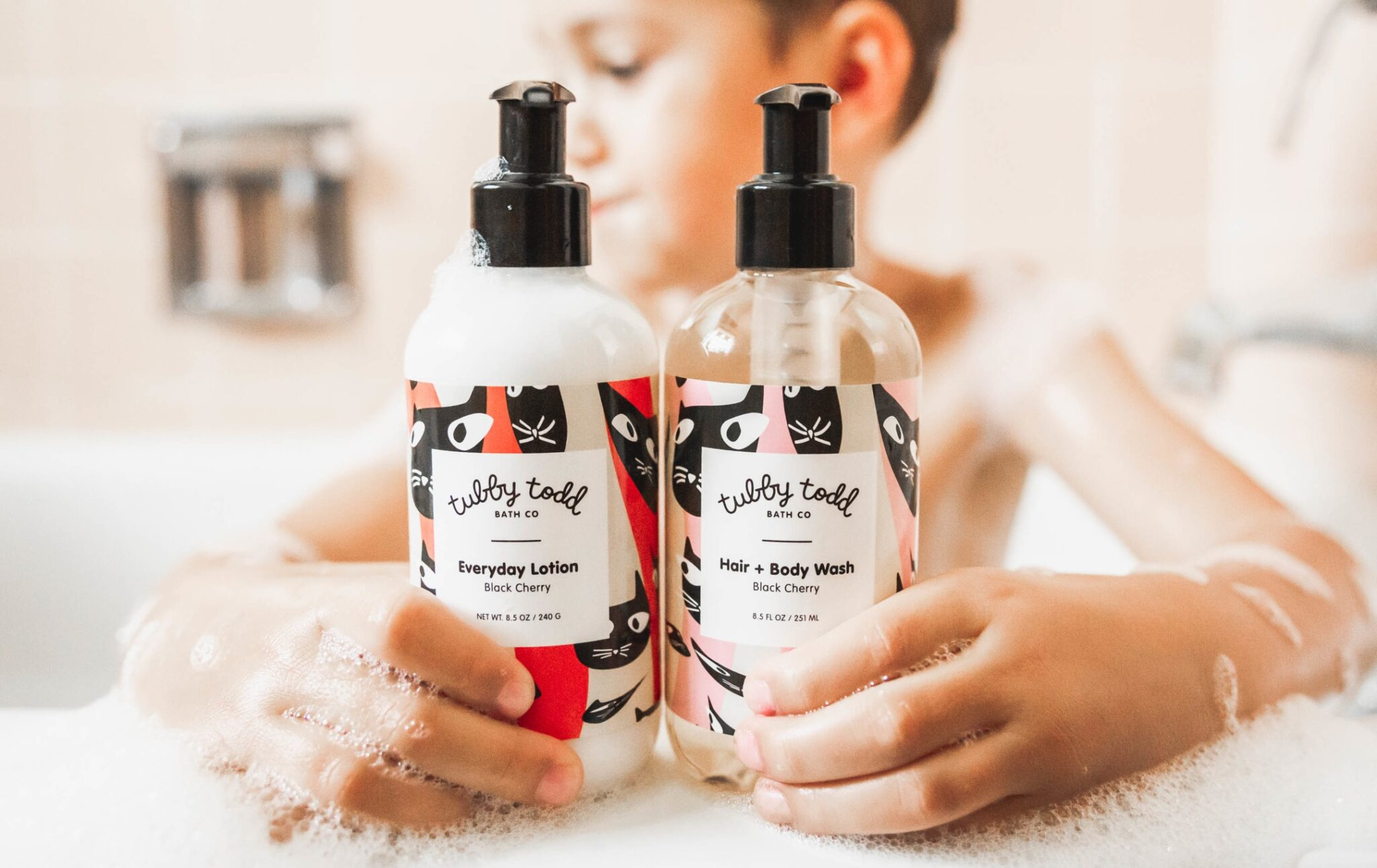 Black Cherry Wash and Lotion