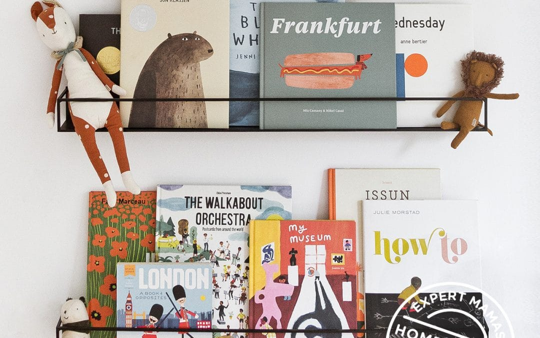 Expert Mama: Paper and Stitch Shares Top Tips for Styling Bookshelves