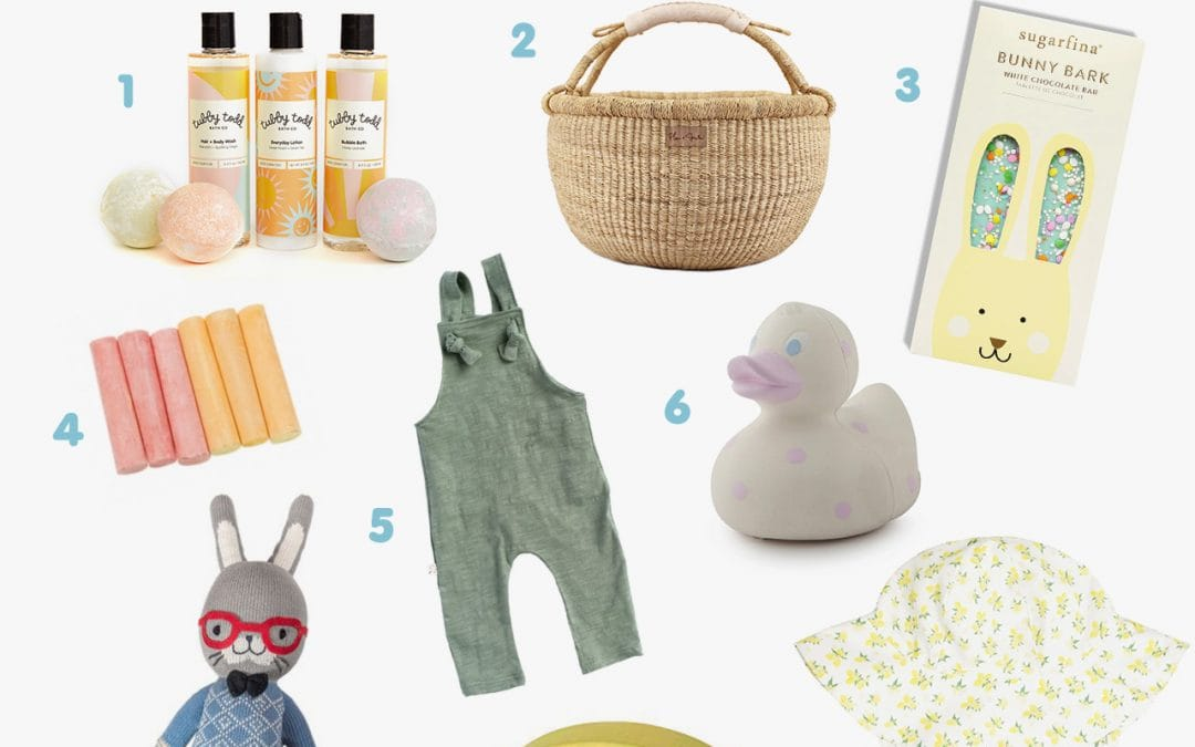 9 Easter Goodies for Your Babe's Basket