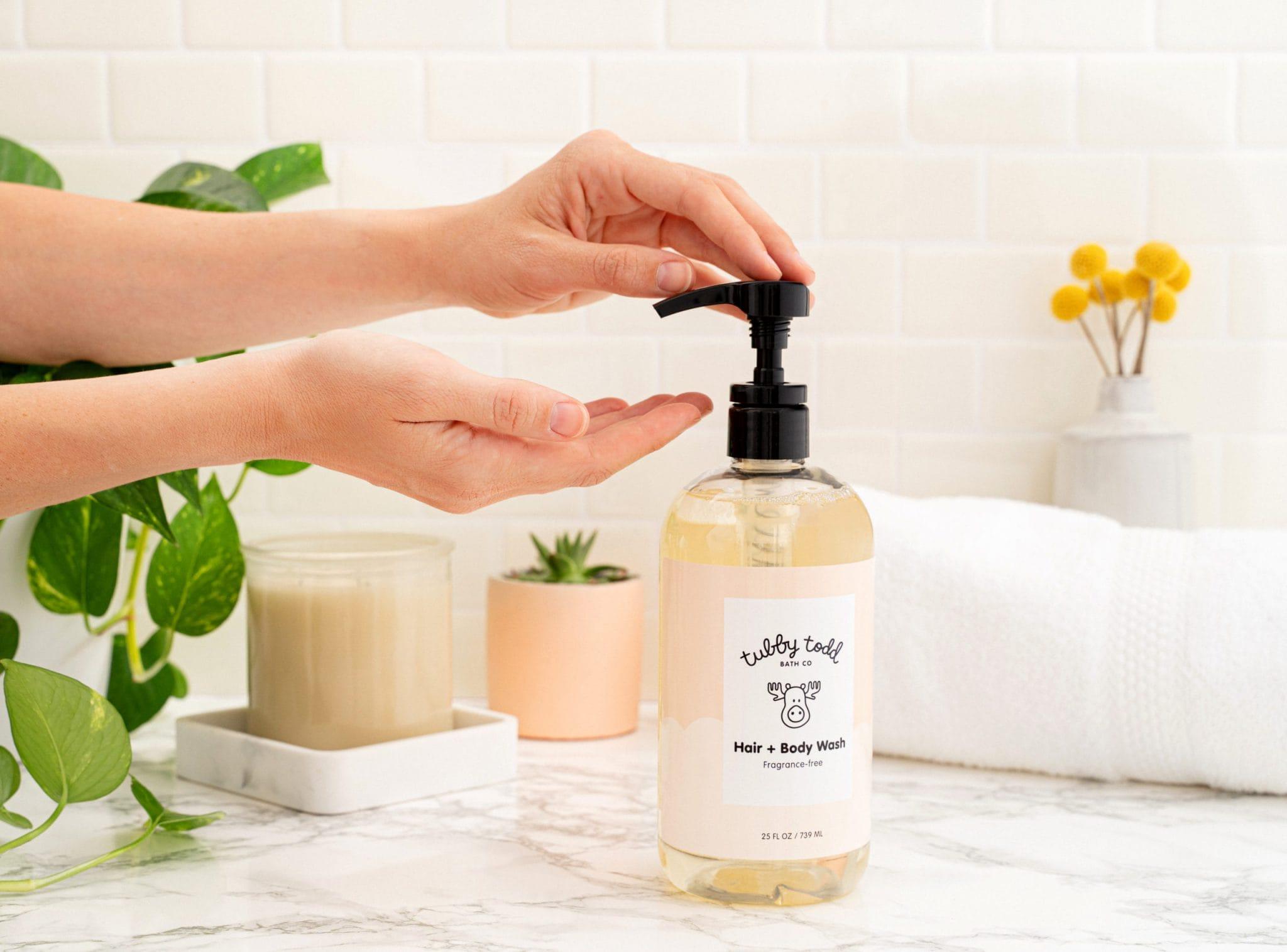 Fragrance-free Hair + Body Wash