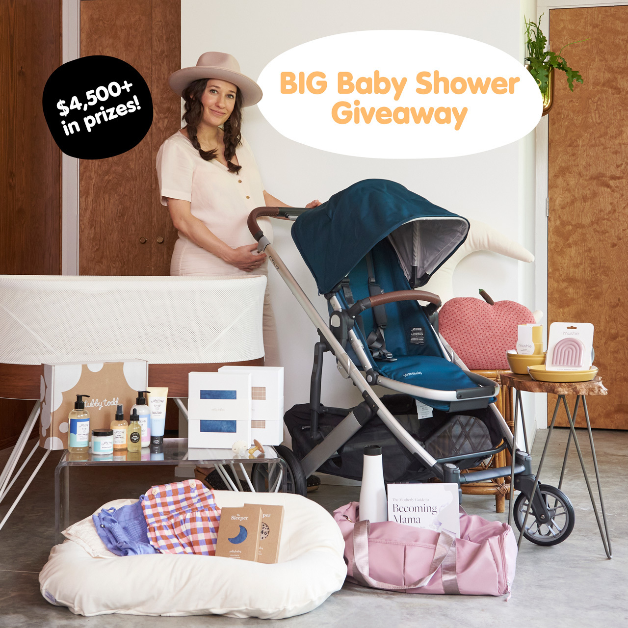 Tubby Todd Art Director's BIG Baby Shower Giveaway
