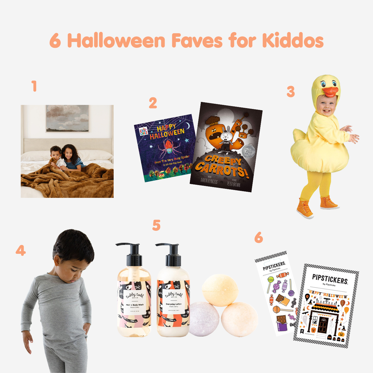 6 Favorite Halloween Goodies for Kiddos