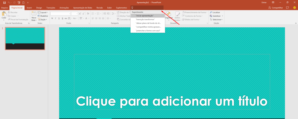 diga-me office PowerPoint