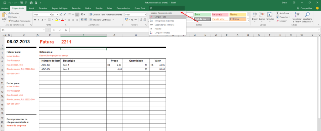 diga-me office excel