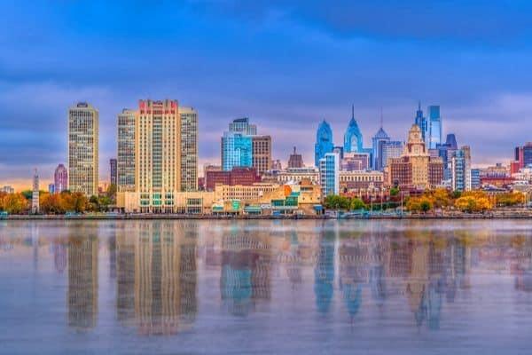 Terminators pest service area - Philadelphia skyline