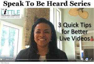 3 Quick Tips for Better Live Videos