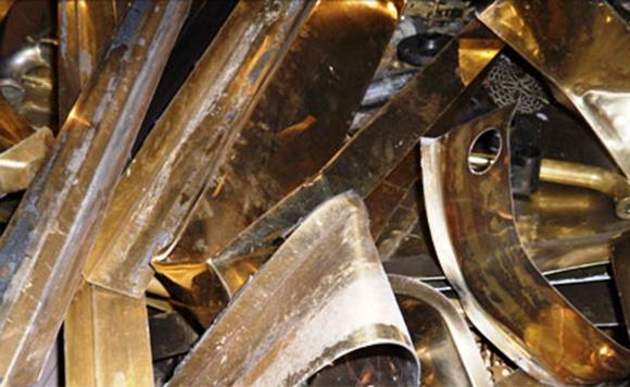 Yellow Brass Recycling Garland Scrap Metal