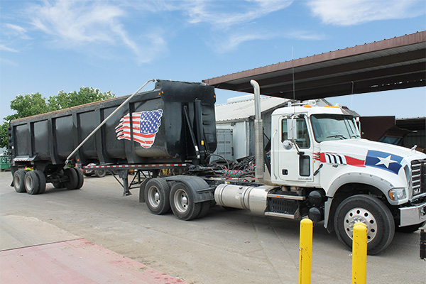 Industrial Container Pickup Services - Scrap Metal Recycling - Dallas, TX