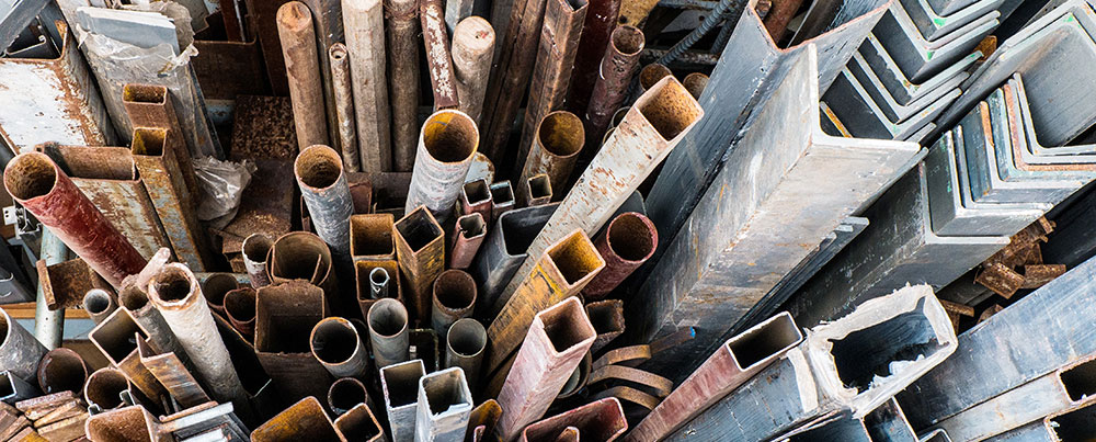 How to Identify Steel Scrap Metal Recycling - Dallas, TX
