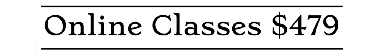 Online English Classes $479