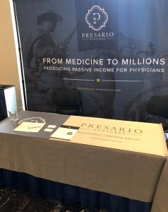 producing passive income for physicians