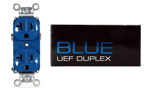 Synergistic Research UEF Blue Duplex Outlet