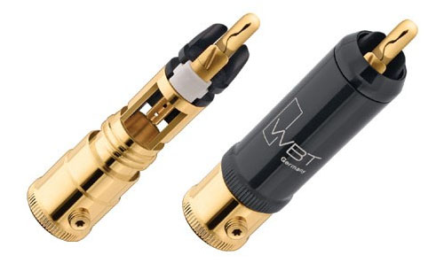 WBT 0152Cu RCA Connectors