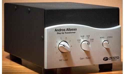 Zesto Audio - Andros Allasso Step Up MC Transformer