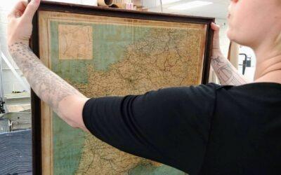 A Custom Framing Refresh of a Silk Map