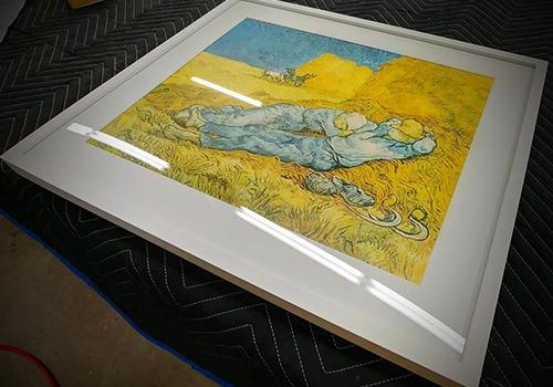 Custom picture framing