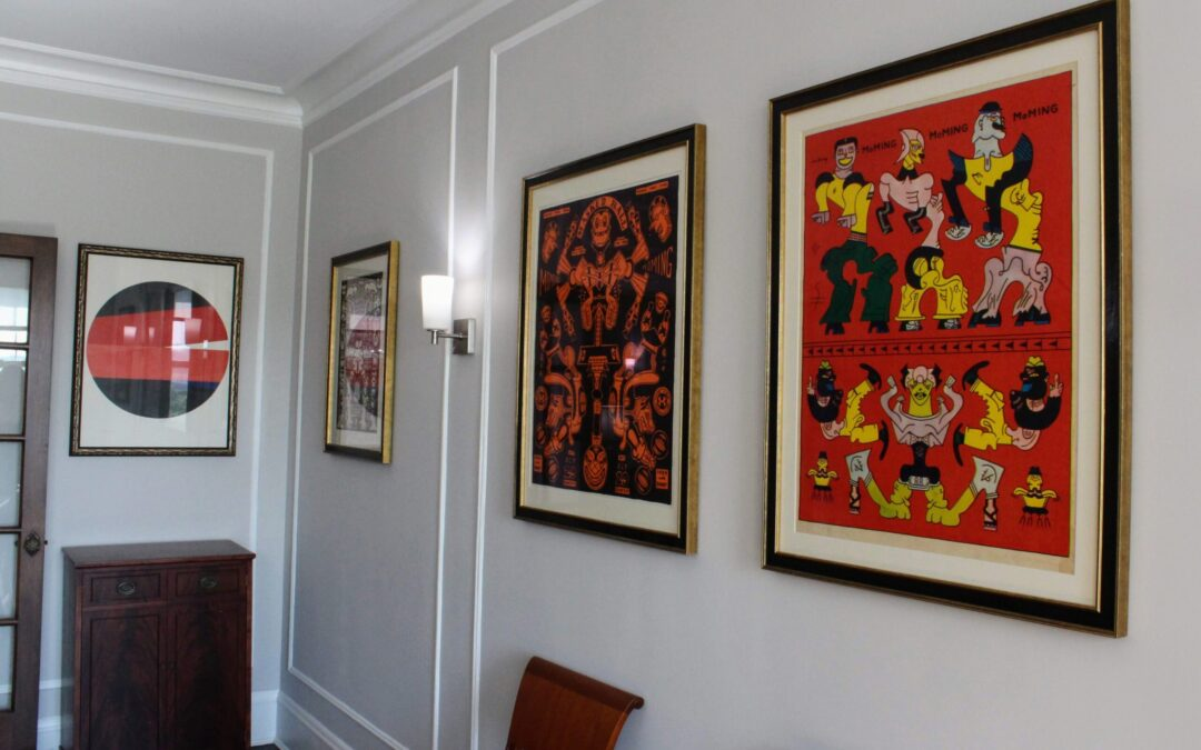 Custom Framing a Chicago Art Collection