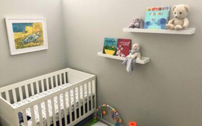 Custom Framed Artwork for Baby's Nursery