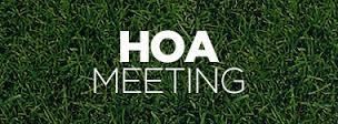 HOA-Meeting