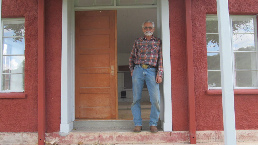 German Quiroga works hard to preserve the history of Patagonia and the San Rafael Valley.
