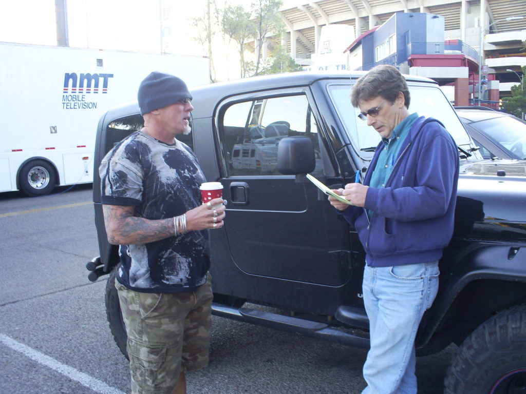 Talking with former ATF undercover agent Jay Dobyns.