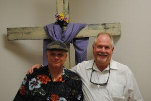Jerry Jones and Ron Colburn