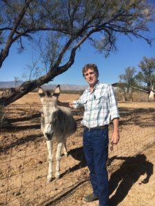 Leo and donkey