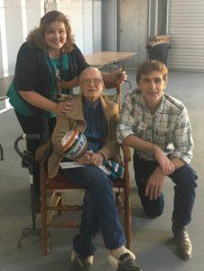 Leo and Teresa Banks with Winn Bundy