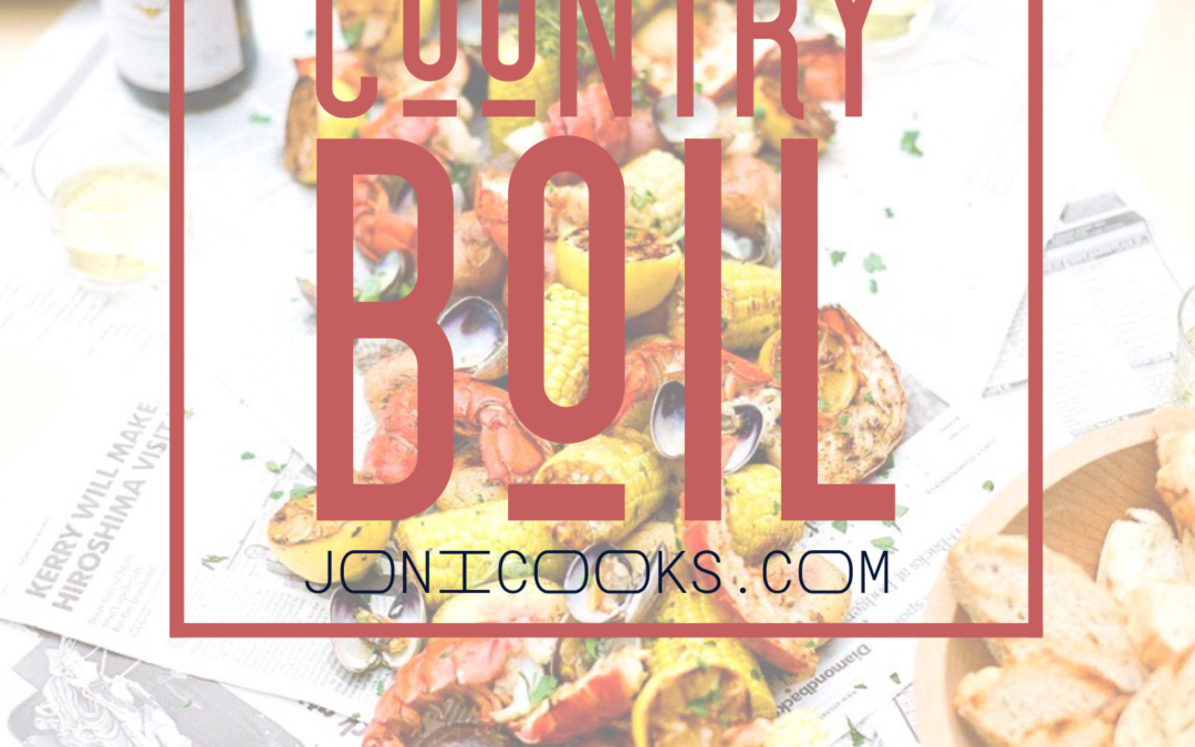 How To: Summertime Low Country Boil with Shrimp and Crab