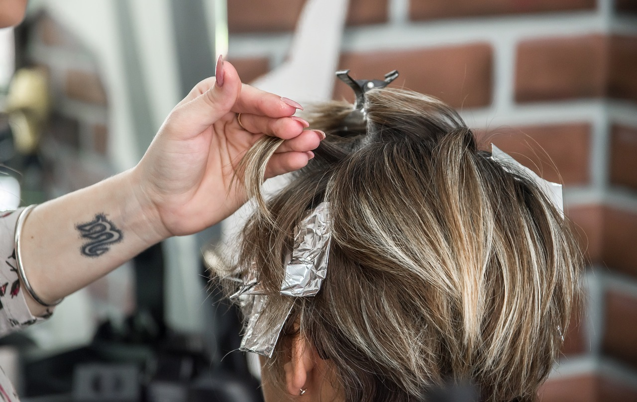 hairstyle, hairdresser, coloring